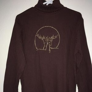 Basic Editions Sweatshirt, Size XL